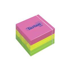 TARTAN bloc-notes repositionnable, 76 x 76 mm, Neon