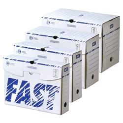 FAST Boîte archives, 250 x 330 mm, largeur de dos : 80 mm