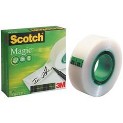3M Scotch Ruban adhésif Magic 810, invisible, 19 mm x 33 m,