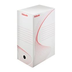 ESSELTE Boîte d'archivage, A4, blanc, (L)200 mm, en carton